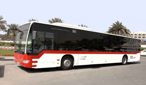 RTA Bus at Rashidiya Metro Station