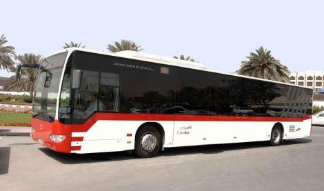 RTA Bus at Rashidiya Metro Station